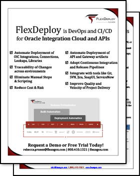 FlexDeploy for OIC