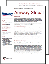 Flexagon- Amway Global Testimonial