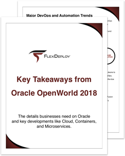 Key Takeaways from OOW2018